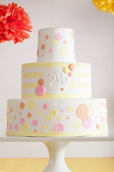 Hochzeitstorten, Cupcakes und Co. - miss solution Hochzeitsinspiration Order Birthday Cake, Special Birthday Cakes, Birthday Cake Girls, Happy Birthday, Birthday Cake With Flowers, Birthday Cake With Candles, Beautiful Cake Pictures, Beautiful Cakes, Pretty Cakes