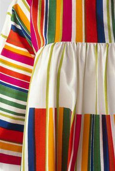 Pentti Rinta for Marimekko: Liidokki dress, Kirjo pattern 1974