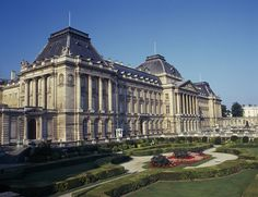 The Royal Palace, Brussels. Partially open to the public between July 22 and September 7.