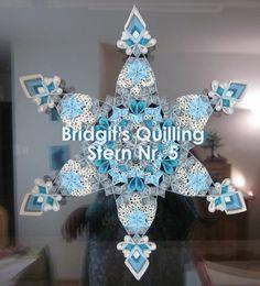 Bridgit's Quilling Stern Nr. 6  /  Bridgit's Quilling Star No. 6 (Tutorial)