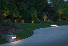 LED Strip Lighting Outdoor Lighting Landscape, Landscape Lighting Design, Garden Landscape Design, Creative Landscape, Landscaping Supplies, Modern Landscaping, Garden Landscaping, Mailbox Landscaping, Landscaping Ideas