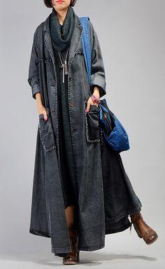 49e37ed991b Vintage Sweater dresses plus size Batwing Sleeve burgundy baggy high neck  knit dress. Plus Size Down CoatsFashion ...