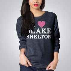 Blake Shelton Official Store - I Heart BS Pullover - Apparel