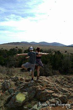 Yoga  Wichita Mountains,  Oklahoma  Brandie Lynne Photography