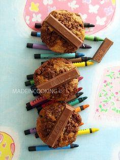 Muffins bananes-Kit Kat