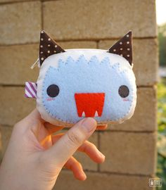 Cute Kawaii Craft! It inspires me to make my own crafts with felt from the fabric store~