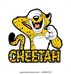 cackling cheetah