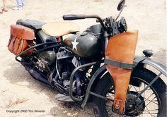 1942 Harley-Davidson WLA.