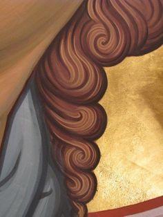Religious Images, Religious Icons, Religious Art, Byzantine Icons, Byzantine Art, Writing Icon, Paint Icon, Face Icon, Roman Art