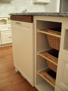 Traditional Kitchen Kitchen Trash Compactor Design, Pictures, Remodel, Decor and Ideas - page 7