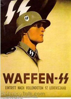 Affiche propagande allemande seconde guerre mondiale