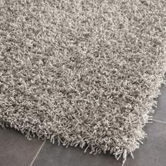 Handmade Posh Silver Shag Rug (8' x 10') | Overstock.com Shopping - The Best Deals on 7x9 - 10x14 Rugs