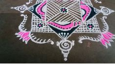 Padi Kolam, Sri Rama, Simple Rangoli, The Creator, Dots, Stitches