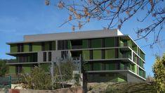 Las diferentes tipologías de viviendas provocan cambios y movimientos en las distintas fachadas