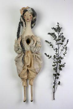 art doll handmade by Pantovola 'Fay'
