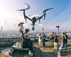 Want to place an off-camera flash where stands and assistants can't go? Try mounting it to a drone. That's what Chinese photographer Fuyan Liu does to light difficult portraits in extreme …