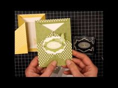 Flip and Fold Card - YouTube