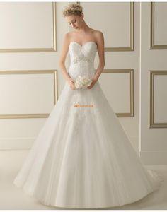 Herz-Ausschnitt Elegant & Luxuriös Applikation Brautkleider 2014