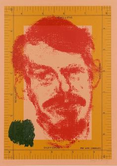 Portrait of Robert Creeley - R.B.Kitaj