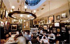 West Village - The Lion - Truffle gnocchi New York Times, Ny Times, Dream City, West Village, Concrete Jungle, Restaurant Design, Stockholm, New York City, Lion