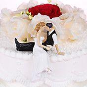 Sweet Romantic Moment Wedding Cake Topper – USD $ 14.95