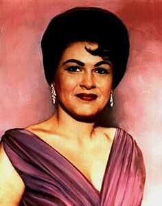Patsy Cline. She totally reminds me of my grandmother in this picture.
