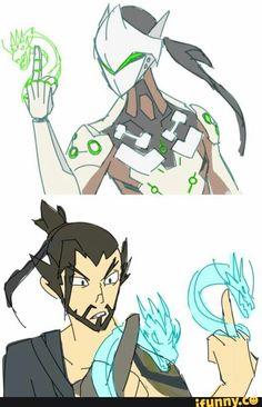 Hanzo e Genji