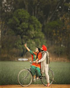 Fantastic Wedding Advice You Will Want To Share Punjabi Wedding Couple, Indian Wedding Couple Photography, Wedding Couple Photos, Punjabi Couple, Wedding Couples, Punjabi Boys, Romantic Couples, Couple Pictures, Baby Pictures