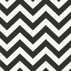 Black and White Zig Zag Fabric by the Yard | Carousel Designs 500x500 image