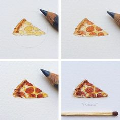 Amazingly Realistic Tiny Paintings Of The Universe, Book Covers, Animals - DesignTAXI.com