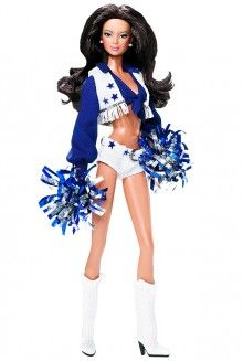 Dallas Cowboys Cheerleaders Barbie® Doll Pop Culture Dolls - View Collectible Barbie Dolls From Pop Culture Collections | Barbie Collector