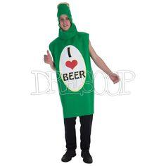 Disfraz Botellín de cerveza para hombre - Dresoop.es