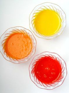 Sweetened Condensed Paint-Edible Paint for Babies and Toddlers...great way to use up any leftover sweetened condensed milk after holiday baking