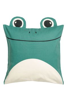 Cotton twill cushion cover - Green/Frog - Home All | H&M 2