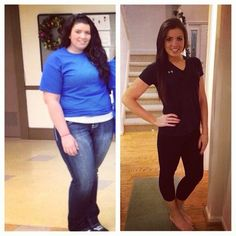 katiesfightforfitness: December 2012 vs December 2013. This year has been one to remember.. 90lbs down and no longer am taking my health fo...