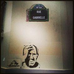 #Streetart in #Paris : #Picasso