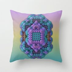 Pandora Talisman Throw Pillow by Lyle Hatch - $20.00