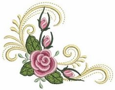 Grand Sewing Embroidery Designs At Home Ideas. Beauteous Finished Sewing Embroidery Designs At Home Ideas. Local Embroidery, Types Of Embroidery, Embroidery Monogram, Embroidery Stitches, Hand Embroidery, Border Embroidery Designs, Free Machine Embroidery Designs, Bordado Floral, Sewing Art