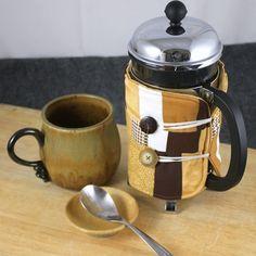 Custom Made French Press Coffee Accessory