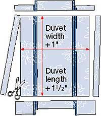 Duvet Cover Sewing Pattern