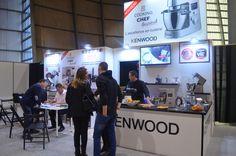 Kenwood, le spécialiste du robot culinaire, présentait aux visiteurs leur nouveauté avec de nombreuses démonstrations !