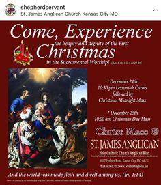 This #christmas  @KcAnglican 10:30 Lessons &Carols followed by Christmas Midnight Mass #KansasCity  #overlandpark #olathe #prairievillage #countryclub #leessummit