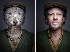 Hund Halter Sebastian Magnani (© Sebastian Magnani/Rex Features)