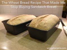 Whole wheat sandwich bread - adapted from America's Test Kitchen recipe