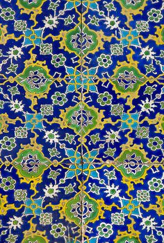 Tiles in the Harem, Topkapi Palace, Istanbul.