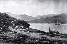 Photograph - Lyttelton in 1850 Gibb, John, , Christchurch City Libraries Heritage Photograph Collection Christchurch New Zealand, Black And White City, City Library, Genealogy, Mud, Cities, Lost, Memories, Spaces