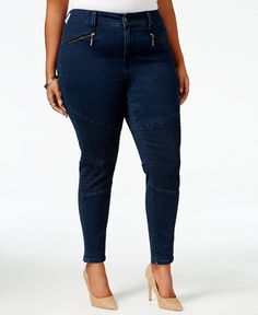 081bdbe9862 Melissa McCarthy Seven7 Trendy Plus Size Inkwell Wash Pencil Jeans    Reviews - Jeans - Plus Sizes - Macy s