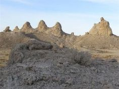 The Trona Pinnacles is one of the most unusual geological features in the California Desert Conservation Area. The unusual landscape consist...