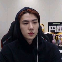 Find images and videos about exo, sehun and reaction on We Heart It - the app to get lost in what you love. Baekhyun, Exo Exo, Meme Faces, Funny Faces, K Pop, Seokjin, Memes Chinos, Live Meme, Kpop Memes