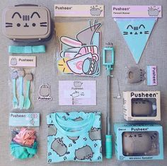 I Love pusheen Pusheen Love, Pusheen Stuff, Pusheen Stormy, Girly Things, Cool Things To Buy, Pusheen Birthday, Sweet Cat, Cool School Supplies, Nyan Cat
